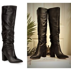 Brand New Steve Madden Leather Boots  Sz 7.5